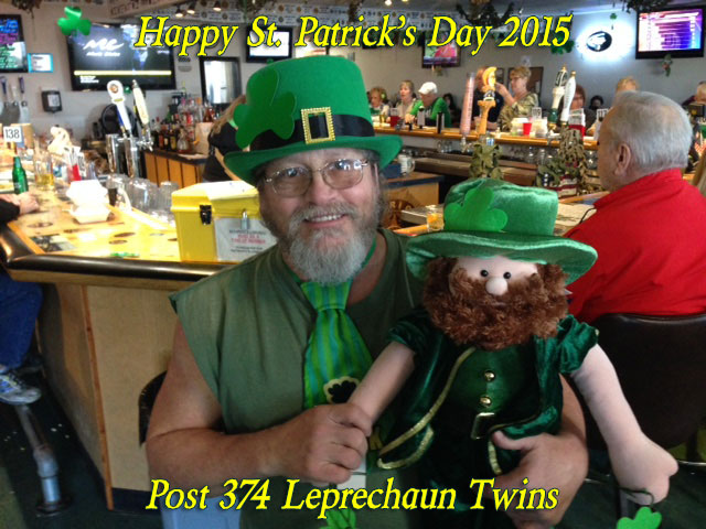 2015 Post 374 Leprechaun Twins