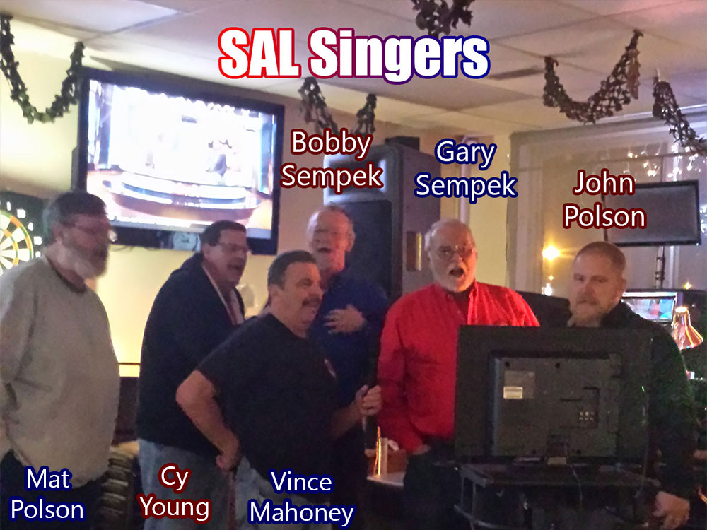 SAL Singers debuting at the February Birthday Bash